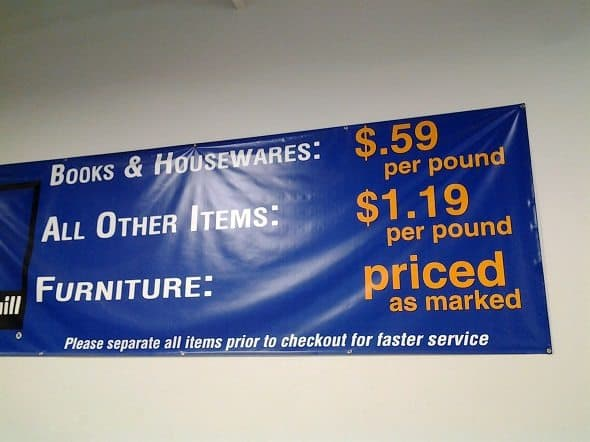 Goodwill Outlet Prices