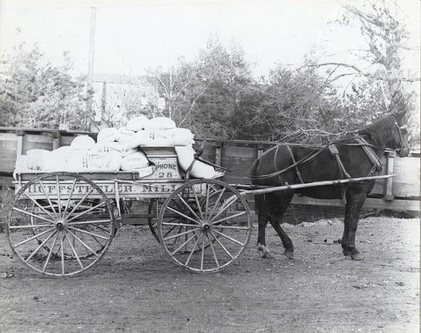 Huffstetler Mills Wagon