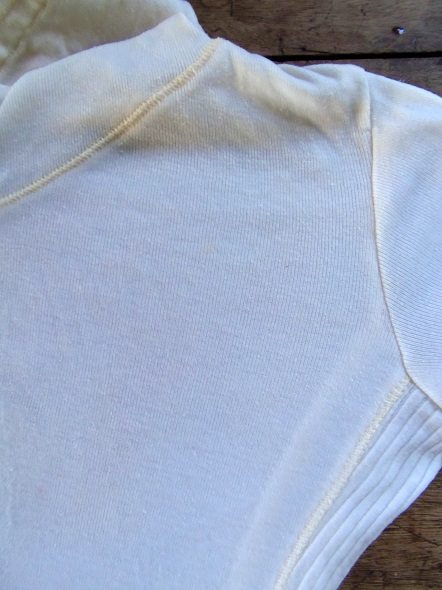 Shirt with Grease Pencil Stained Removed