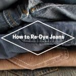 Redyed Jeans
