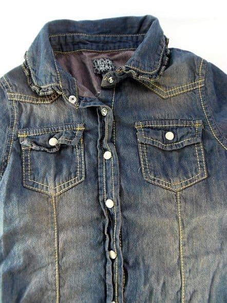 Redyed Jean Shirt