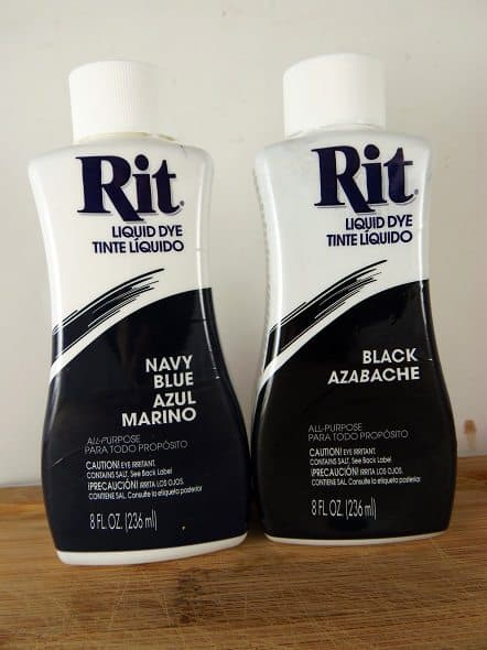 Rit Dyes - Navy and Black