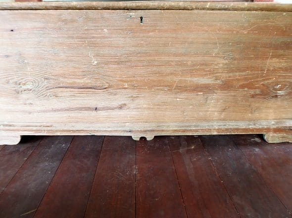 Primitive Blanket Chest