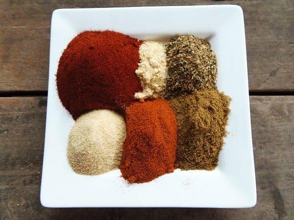 Chili Powder Ingredients