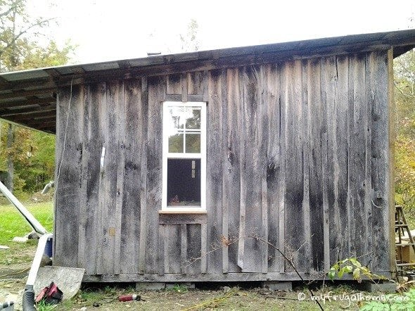 Finished Side of Cabin