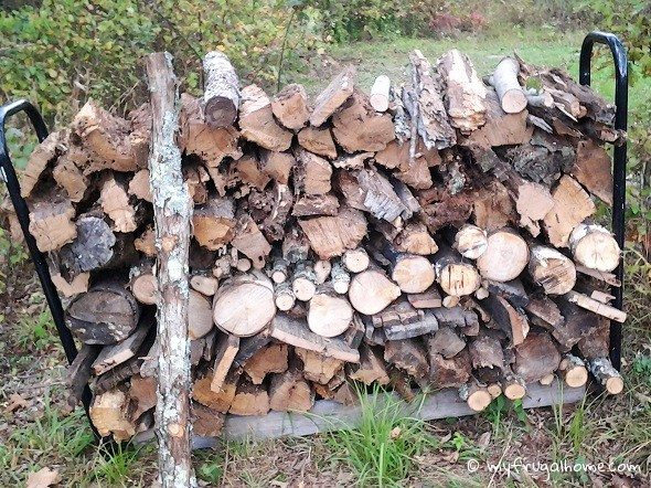 Firewood from Clean Up