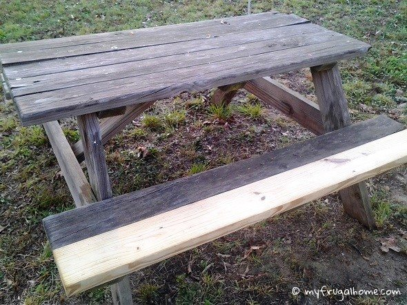 Picnic Table - Repaired