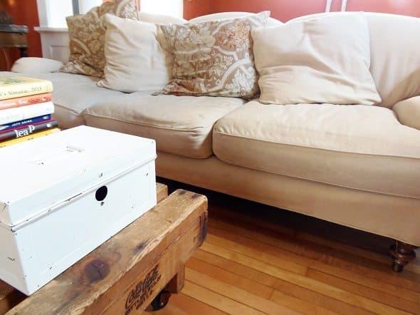 Coffee Table and Sofa