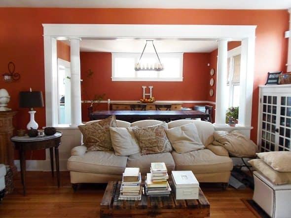 Living Room Home Tour
