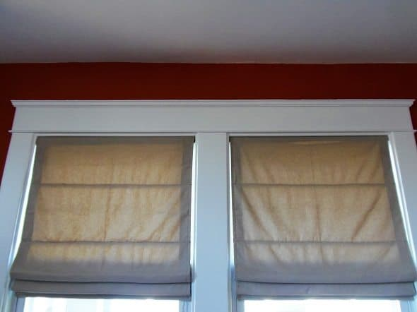 Homemade Roman Shades