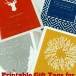 Printable Gift Tags for Gift Subscriptions