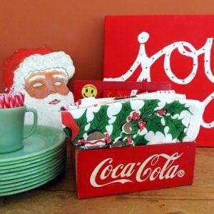 Christmas Display on Sideboard