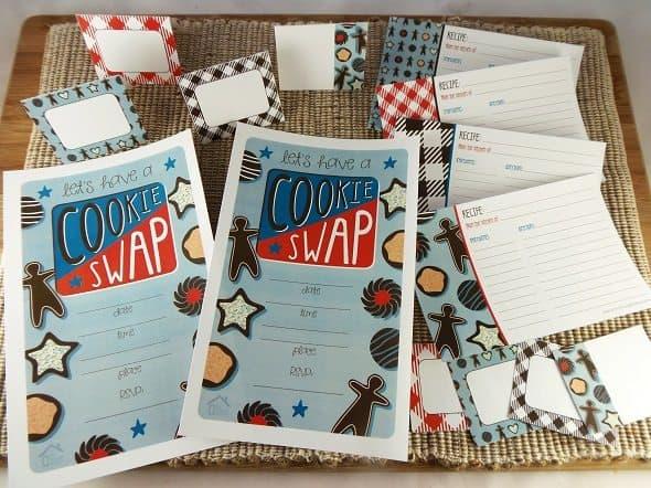 Cookie Swap Party Printables