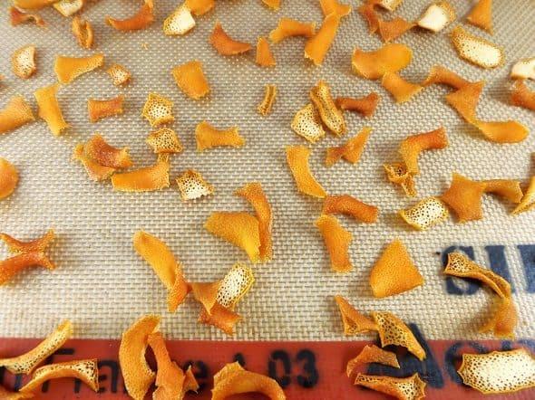 Dried Orange Peels