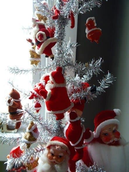 Vintage Santa Tree - Top