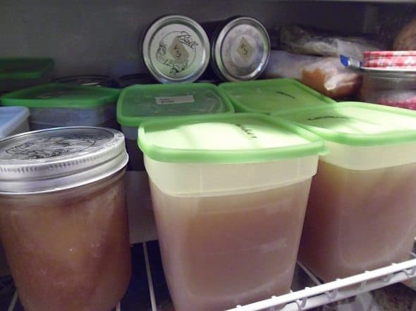 Frozen Chicken Broth