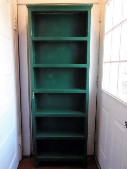 Green Bookshelf