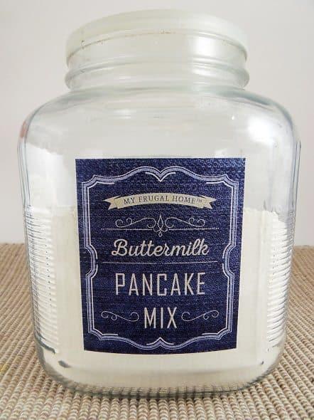 Homemade Buttermilk Pancake Mix