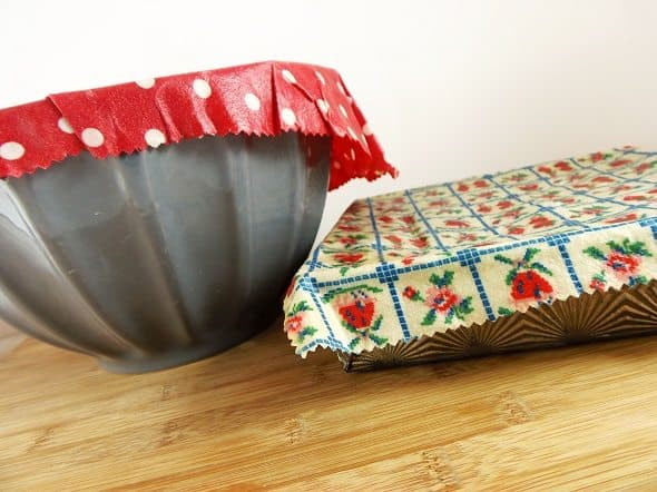Homemade Reusable Food Wrap