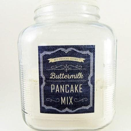 Buttermilk Pancake Mix Recipe
