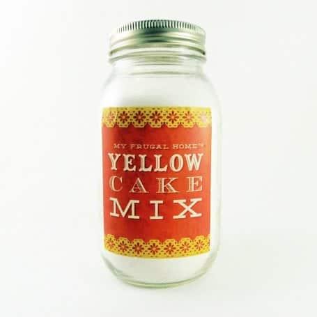 Yellow Cake Mix Recipe