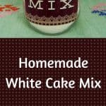 Homemade White Cake Mix