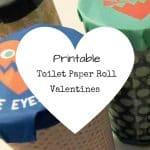 Toilet Paper Roll Valentines