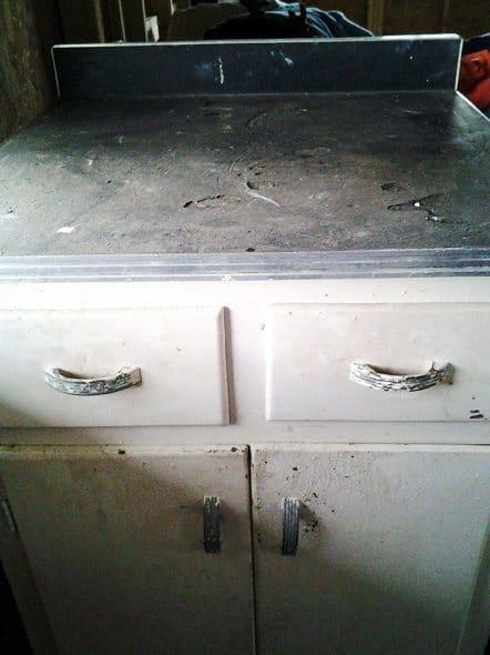 Curb Find Kitchen Cabinet