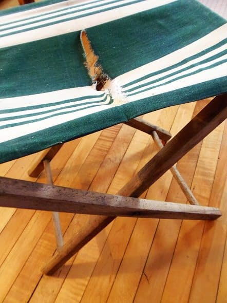 Ripped Camp Chair
