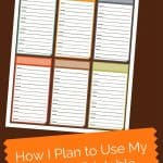 How I Plan to Use My Harvest Printable
