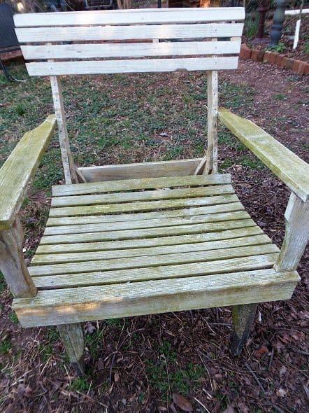 Adirondack Chair Before