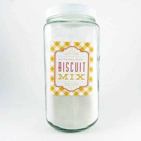 Biscuit Mix Recipe