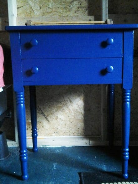 Blue Nightstand