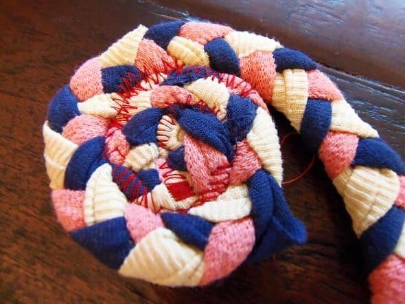 Center of Circle Braided Rug