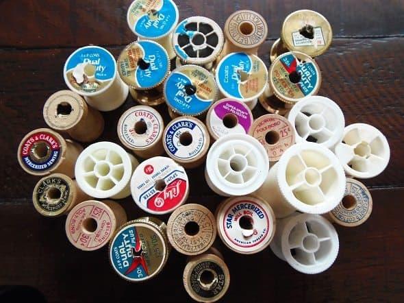 Empty Thread Spools
