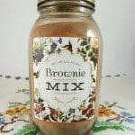 Homemade Brownie Mix Recipe