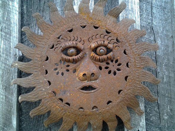 Rusted Metal Sun