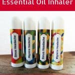 Homemade Essential Oil Inhalers