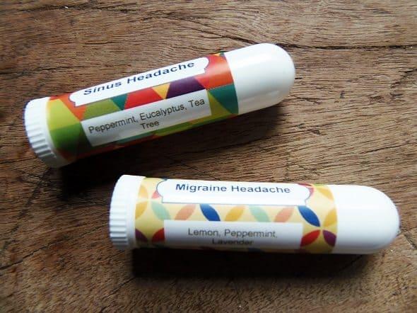 Essential Oil Inhaler Blends