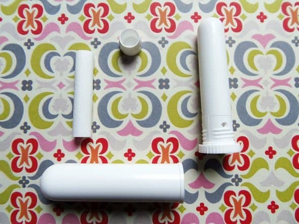 Parts of an Essential Oil Inhaler