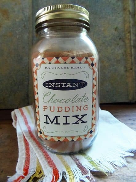 Instant Chocolate Pudding Mix