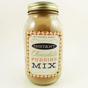 Instant Chocolate Pudding Mix Recipe
