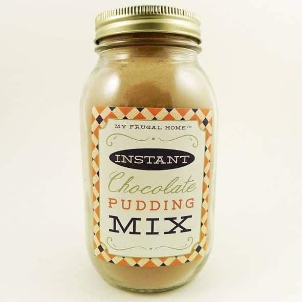 Instant Chocolate Pudding Mix Recipe