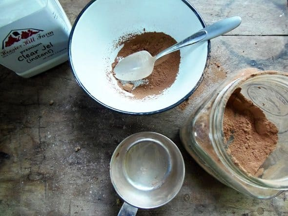 Instant Chocolate Pudding Mix Ingredients
