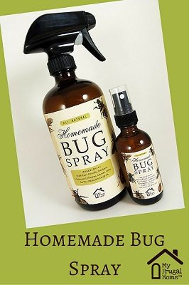 Homemade Bug Spray Pin