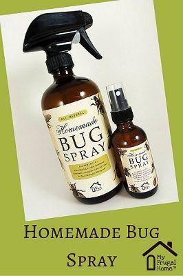 Homemade Bug Spray Pin
