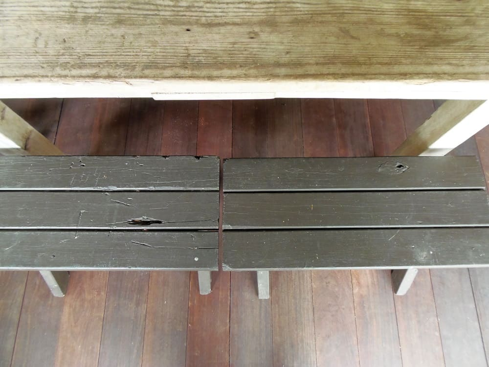 Small Wood Benches