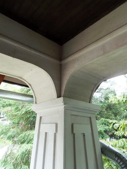 Craftsman Porch Architectural Details