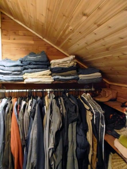 His Side of Closet