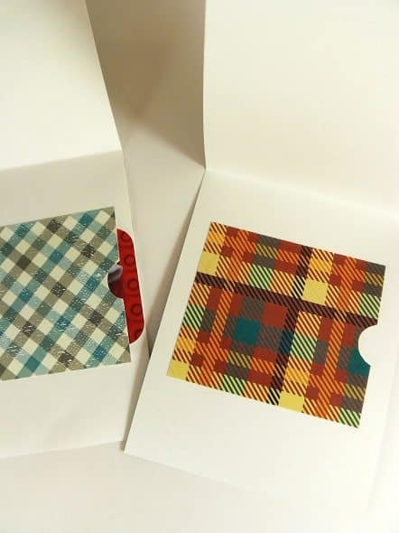 Inside of Father's Day Gift Card Holders